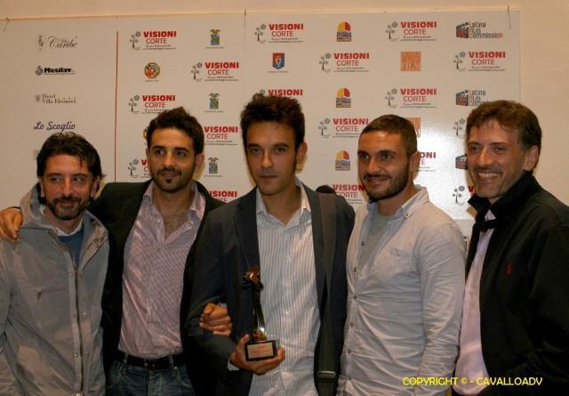 Lorenzo Cammisa e Diversamente Rossi con premio CortoMusic (Small)