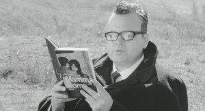 "Orson Welles ne ""La Ricotta"""