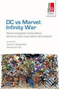 copertina dc vs marvel infinity war