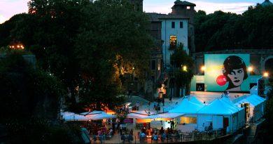 isola del cinema roma